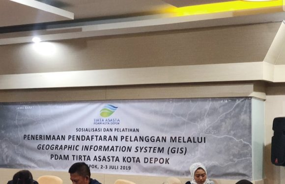 PDAM Tirta Asasta Kota Depok menyelenggarakan Sosialisali