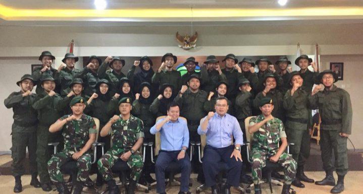 PDAM Tirta Asasta Kota Depok menyelenggarakan Diklat Prajabatan Bela Negara.