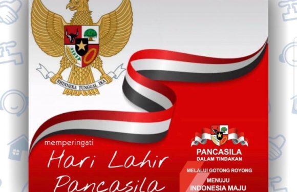 Selamat Hari Lahir Pancasila, 1 Juni 2020