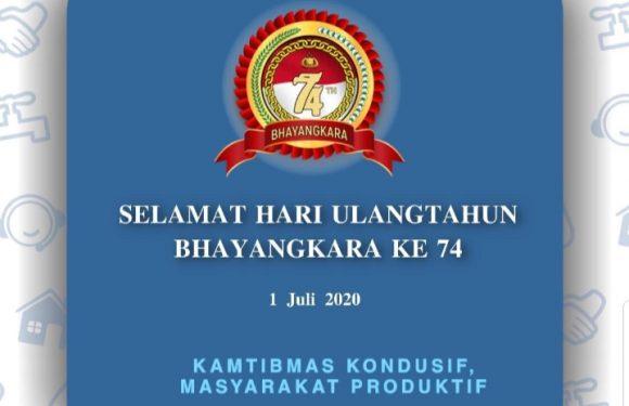 PDAM Tirta Asasta Kota Depok Mengucapkan: Selamat Hari Bhayangkara ke-74.