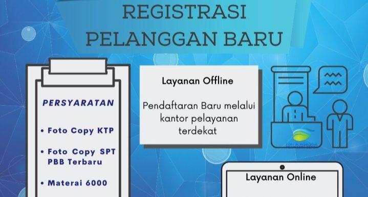 PDAM KOTA DEPOK @TirtaAsasta Hallo #KawanAsasta! Untuk mempermudah pendaftaran calon pelanggan baru, registrasi dapat dilakukan secara offline dengan langsung mengunjungi kantor pelayanan terdekat atau secara online