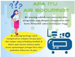 PDAM Tirta Asasta dalam menjaga kualitas air bersih yang dialirkan kepada pelanggan melalui Air