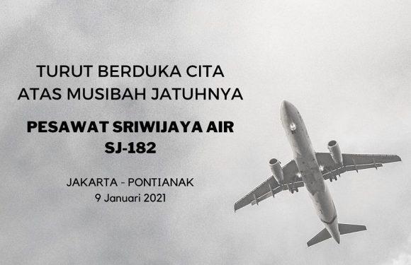 Seluruh Keluarga besar PDAM Tirta Asasta Kota Depok turut berduka cita atas musibah jatuhnya pesawat Sriwijaya Air SJ-182 tujuan Jakarta – Pontianak yang hilang kontak sejak 9 Januari 2021 pukul 14.40 WIB.