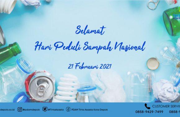 SELAMAT HARI PEDULI SAMPAH NASIONAL 2021
